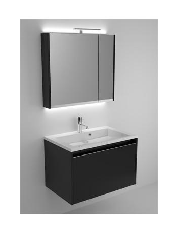 Vepa sanitair zelzate for Spiegelkast 80 cm