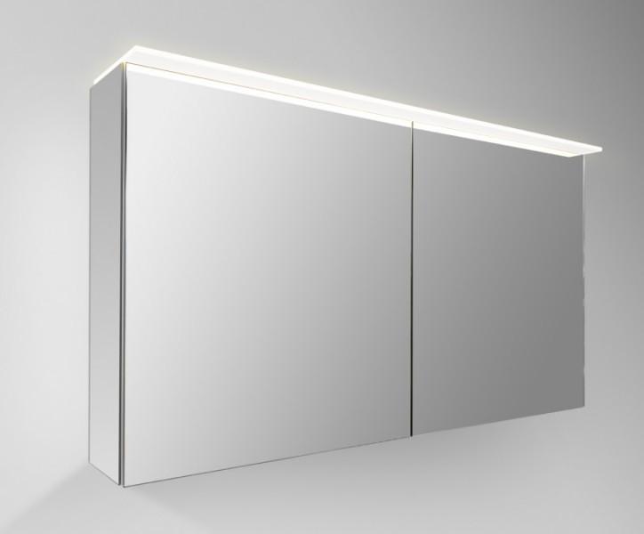 detremmerie no limit spiegelkast trendy met 1 dubbelzijdige spiegeldeur linksdraaiend 60 cm h 65 cm d 16 cm met directe verlichting 75db060dtl
