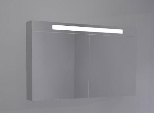 Awesome riho spiegelkast met type met indirecte for Badkamer spiegelkast met verlichting en stopcontact