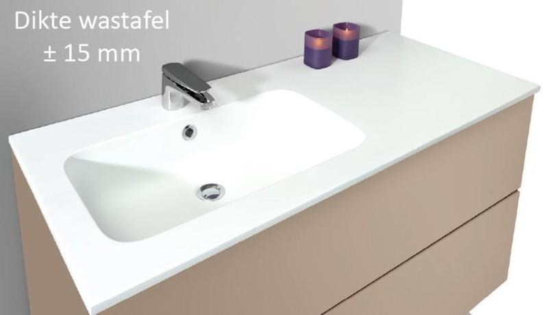 Wastafel 70 Cm : Badkamermeubel cm elegant bruynzeel home products miko